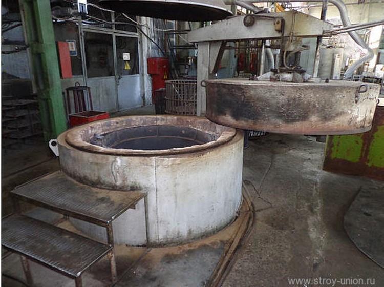 шахтные печи для термообработки металла